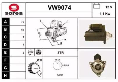 VW9074 SNRA