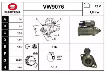 VW9076 SNRA