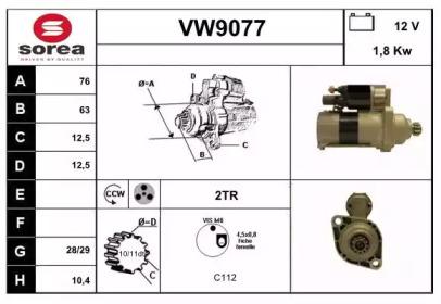 VW9077 SNRA