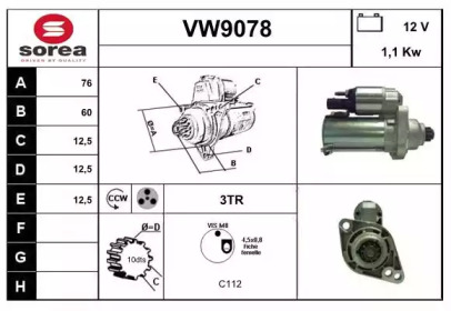 VW9078 SNRA