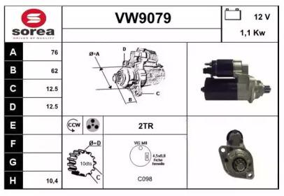 VW9079 SNRA