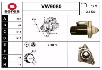 VW9080 SNRA