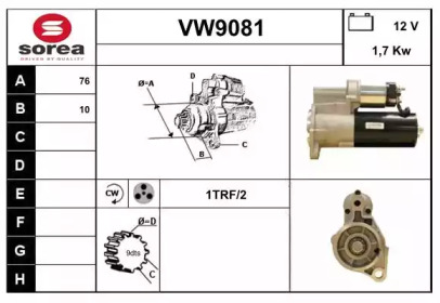VW9081 SNRA