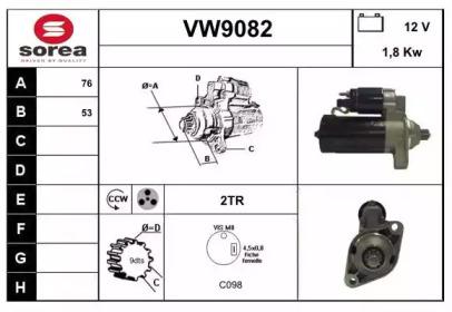VW9082 SNRA