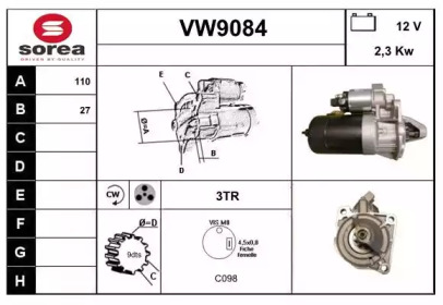 VW9084 SNRA