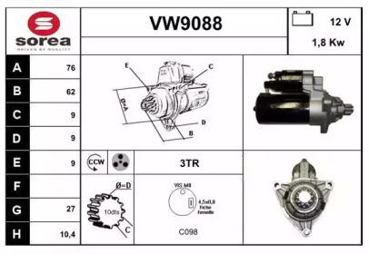 VW9088 SNRA
