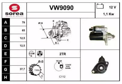 VW9090 SNRA