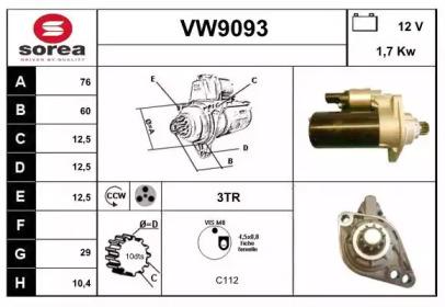 VW9093 SNRA