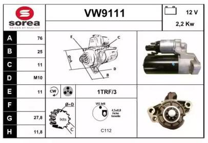 VW9111 SNRA