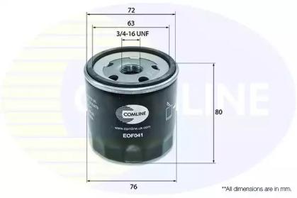 EOF041 COMLINE Масляный фильтр