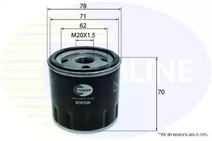 EOF039 COMLINE Масляный фильтр