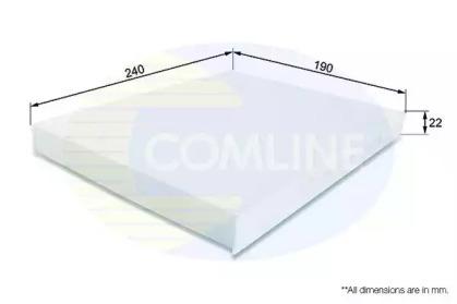 EKF151 COMLINE Фильтр, воздух во внутренном пространстве