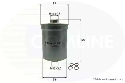 EFF016 COMLINE Топливный фильтр