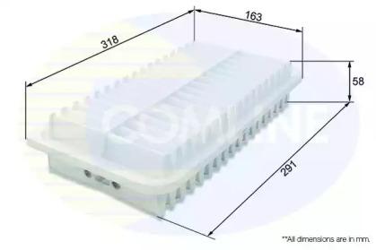 CTY12250 COMLINE Воздушный фильтр
