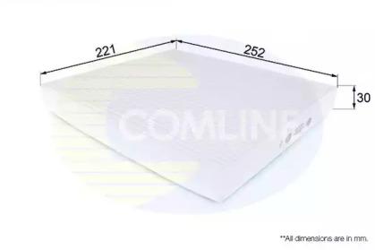 EKF210 COMLINE Фильтр, воздух во внутренном пространстве