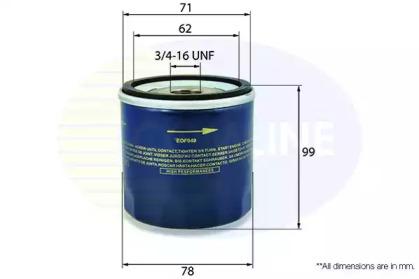 EOF047 COMLINE Масляный фильтр