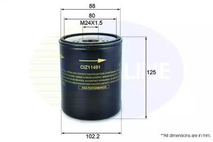 CIZ11491 COMLINE Масляный фильтр