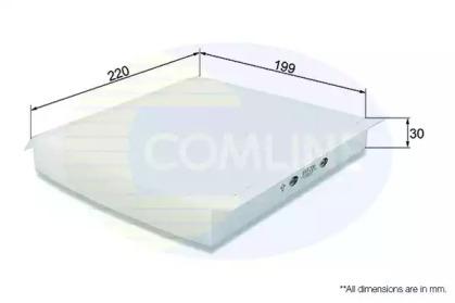 EKF206 COMLINE Фильтр, воздух во внутренном пространстве