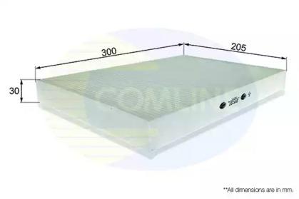 EKF237 COMLINE Фильтр, воздух во внутренном пространстве