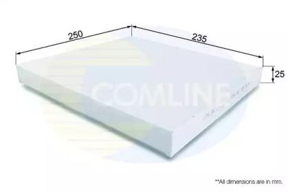 EKF172 COMLINE Фильтр, воздух во внутренном пространстве