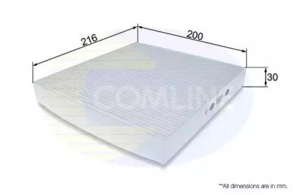 EKF264 COMLINE Фильтр, воздух во внутренном пространстве