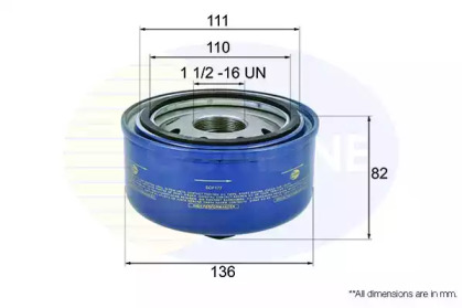 EOF177 COMLINE Масляный фильтр