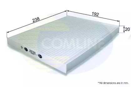 EKF324 COMLINE Фильтр, воздух во внутренном пространстве