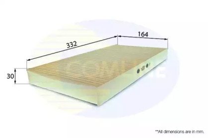 EKF116 COMLINE Фильтр, воздух во внутренном пространстве