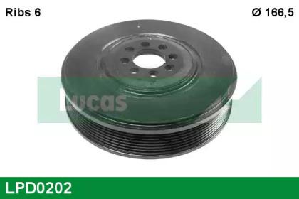 LPD0202 LUCAS ENGINE DRIVE