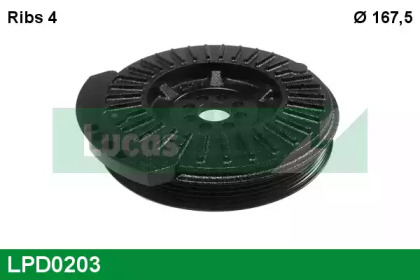 LPD0203 LUCAS ENGINE DRIVE