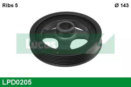 LPD0205 LUCAS ENGINE DRIVE