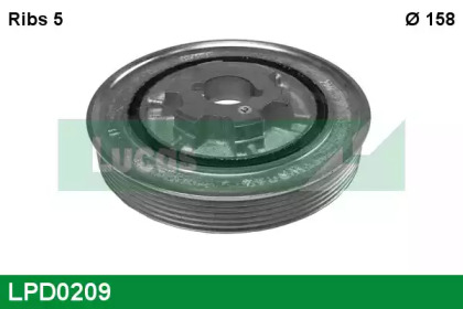 LPD0209 LUCAS ENGINE DRIVE