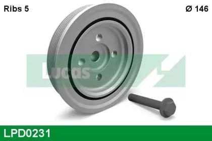 LPD0231 LUCAS ENGINE DRIVE