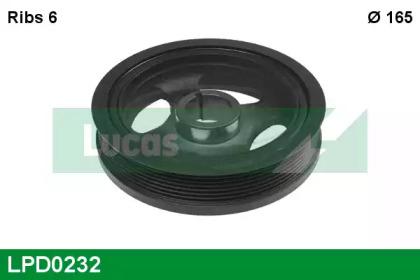 LPD0232 LUCAS ENGINE DRIVE