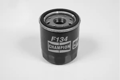 F134606 CHAMPION Фільтр масла Renault Clio II 1.2i 4/98-, Kangoo 1.2i 9/97-