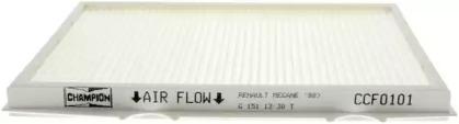 CCF0101 CHAMPION FILTR POWIETRZA KABINOWY RENAULT MEGANE