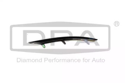Накладка для переднього бампера; ліва DPA 88530695202 для авто  с доставкой