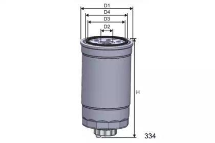 M397 MISFAT Фільтр паливн. Bmw 325TD (E36) 9/91-12/94, 525TD, 52