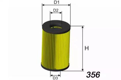 L120 MISFAT Фільтр масляний VW/Seat/Skoda 1.6-2.0 TDI 04/08-