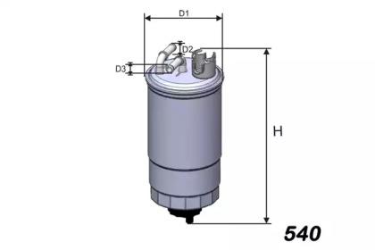 M276 MISFAT Фільтр паливний VW/Ford/Seat 1.9 TDI