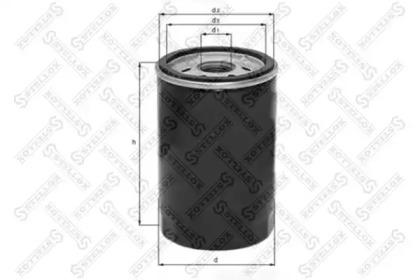 2050067SX STELLOX Масляный фильтр