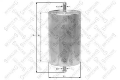 2100079SX STELLOX Топливный фильтр