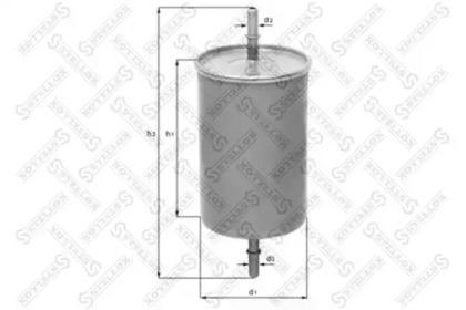2100470SX STELLOX Топливный фильтр