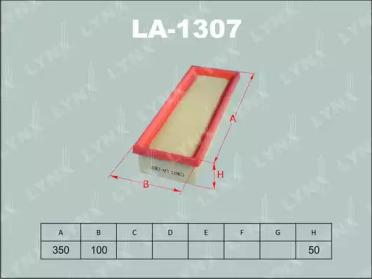 LA1307 LYNXAUTO Воздушный фильтр