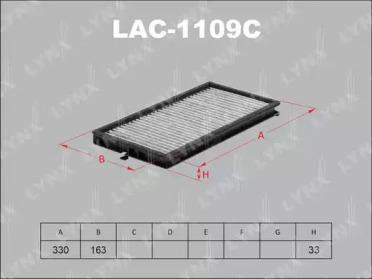 LAC1109C LYNXAUTO Фильтр, воздух во внутренном пространстве