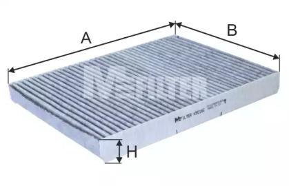K9016C MFILTER Фильтр, воздух во внутренном пространстве
