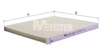 K9023 MFILTER Фильтр, воздух во внутренном пространстве