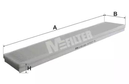 K924 MFILTER Фильтр, воздух во внутренном пространстве
