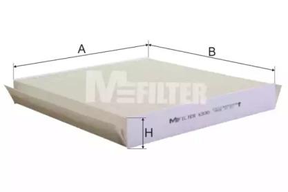 K930 MFILTER Фильтр, воздух во внутренном пространстве