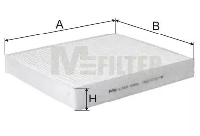 K970 MFILTER Фильтр, воздух во внутренном пространстве